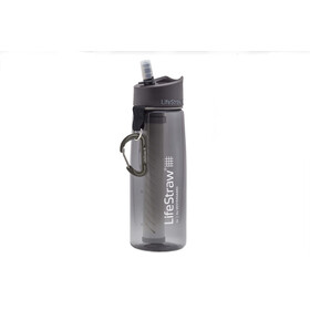 LifeStraw Go 2-Stage Trinkflasche mit Wasserfilter grey